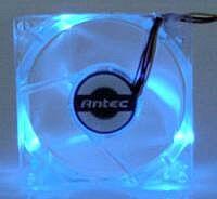 Antec Blue LED Fan, 80mm (0761345-77042-2)