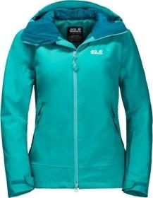 Jack Wolfskin Exolight peak ski jacket aquamarine (ladies) (1110611-1105)