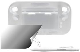 Snakebyte Guard pack sleeve for WiiU gamepad white (WiiU)
