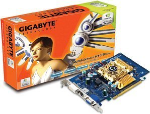 Gigabyte GV-NX57128D, GeForceFX 5700, 128MB DDR, DVI, TV-out, PCIe