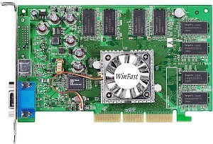 Leadtek WinFast A340-T64, GeForceFX 5200 (5500), 64MB DDR, DVI, TV-out, AGP