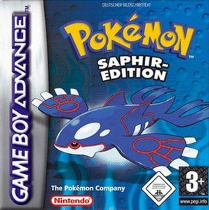 Pokemon - Saphir Edition (GBA)