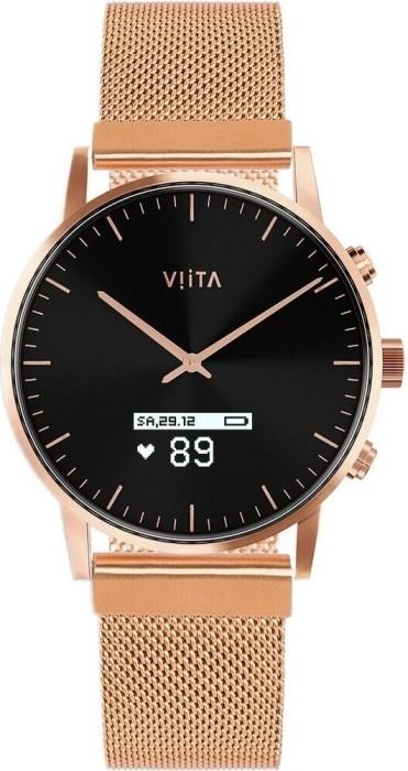 Viita Watch Hybrid HRV Classic rosegold mit Milanaise-Armband rosegold (FC32S7033) -- via Amazon Partnerprogramm