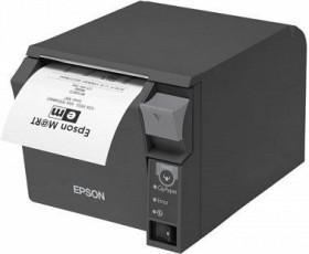 Epson TM-T70II USB/Bluetooth, dunkelgrau, Thermodirekt (C31CD38972)