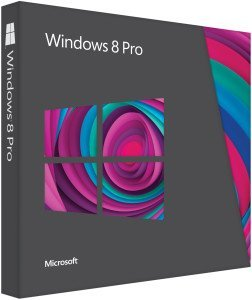 Microsoft: Windows 8 Pro 64Bit, DSP/SB (deutsch) (PC) (FQC-05960)