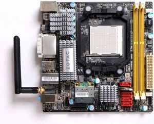 Zotac 880G-ITX WiFi, 880G (Socket AM3, dual PC3-10667U DDR3) (880GITX-A-E)