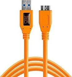 Tether Tools TetherPro USB 3.1 Gen 1 Kabel USB-C/Micro-USB-B 4.6m orange (CUC3315-ORG) -- via Amazon Partnerprogramm