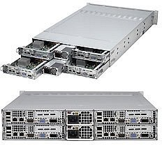 Supermicro A+ Server 2022TC-BTRF, 2U (2x AMD Socket C32, dual PC3-12800R DDR3) (AS-2022TC-BTRF)