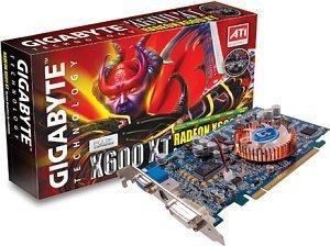 Gigabyte Radeon X600 XT, 128MB DDR, DVI, TV-out, PCIe (GV-RX60X128V)