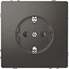 Merten System Design SCHUKO-Steckdose, anthrazit (MEG2301-6034)