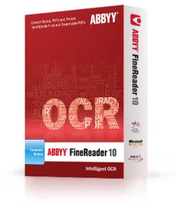 Abbyy: FineReader 10 Professional, Update (English) (PC) (101010100120)
