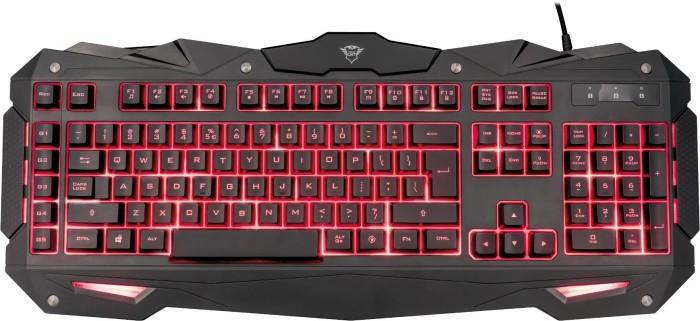 TRUST GXT 840 Myra schwarz Gaming Tastatur bei expert