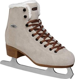 Roces Suede Eco Fur brown ice skates (450702-001)
