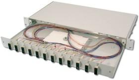 Digitus Glasfaser Spleißbox, bestückt, SC, OS2, 1HE (DN-96322/9)