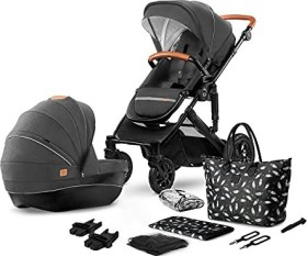 Kinderkraft Prime 2in1 combo pushchair black 2020