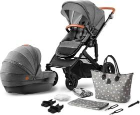 Kinderkraft Prime 2in1 combo pushchair grey 2020