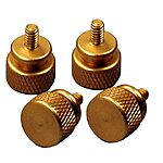Thumbscrews grob/gold 4er Set