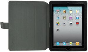 Luxa2 Metis iPad 2 leather sleeve and Stand brown (LHA0035-D)