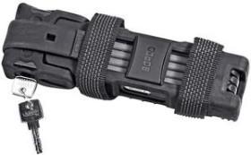 ABUS Bordo 6000 Faltschloss schwarz, Schlüssel (51797)