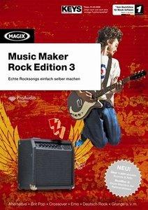 Magix Music Maker - Rock Edition 3 (deutsch) (PC)