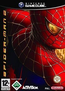 Spiderman 2 - The Movie Game (German) (GC)