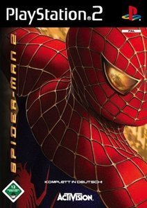 Spiderman 2 - The Movie Game (niemiecki) (PS2) (PS2-112)