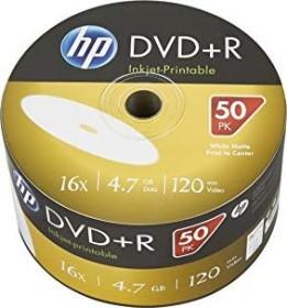 HP DVD+R 4.7GB 16x printable, 50-pack (DRE00070WIP)