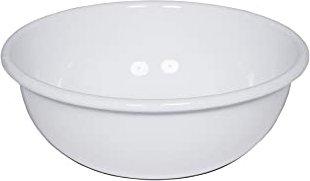 Riess Schüssel 16 cm weiß Emailschüssel Küchenschüssel Emaille Email