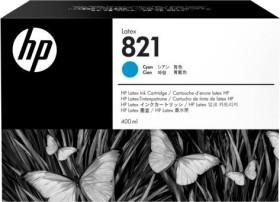 HP Tinte 821 Latex cyan (G0Y86A)