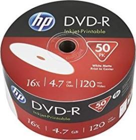 HP DVD-R 4.7GB 16x printable, 50-pack (DME00070WIP)