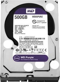 Western Digital WD Purple 500GB, SATA 6Gb/s (WD05PURZ)