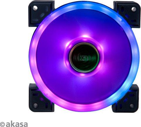 Akasa Vegas TLX Addressable RGB LED fan, 120mm (AK-FN101)