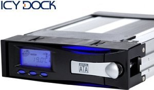 Cremax Icy Dock MB122SKGF-B black, SATA hard drive caddy (99033)