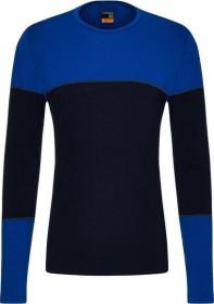 Icebreaker Merino 200 Oasis Deluxe Crewe Shirt langarm midnight navy/surf (Herren) (104858-B04)