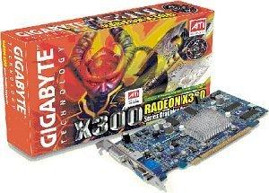 Gigabyte Radeon X300, 128MB DDR, DVI, TV-out, PCIe (GV-RX30128D)