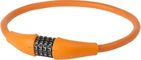 M-Wave D 12.9 MEM Kabelschloss, Zahlenkombination orange (231127)