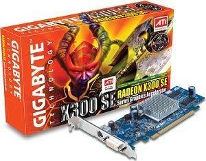 Gigabyte Radeon X300SE HyperMemory, 128MB DDR2, VGA, DVI, TV-out, PCIe (GV-RX30HM256DP-RH)