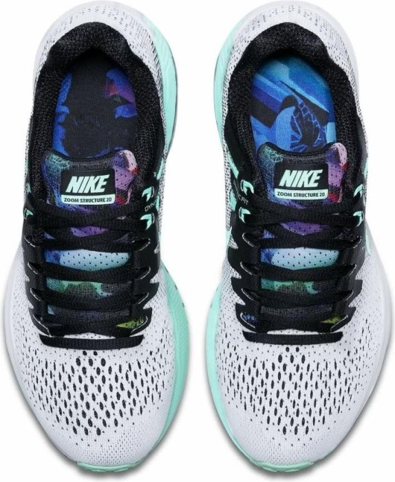 8796f8b690f ... coupon code for nike air zoom structure 20 solstice black court purple  barely volt green glow