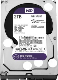 Western Digital WD Purple 2TB, SATA 6Gb/s (WD20PURZ)