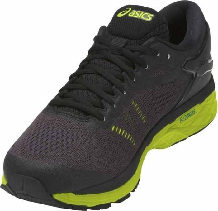 56a2e493ab5 Asics gel-Kayano 24 black/green gecko/phantom (men) (T749N-9085)