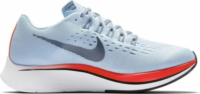 20ed74447 Nike zoom Fly ice blue/bright crimson/university red/blue fox (ladies)  (897821-401)