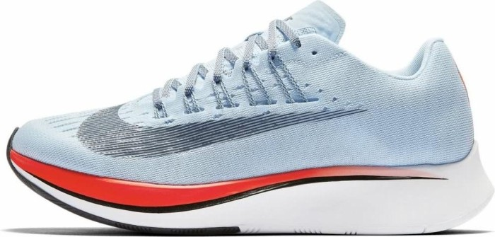 Nike Women's Nike Zoom Fly Damen-Laufschuh - ice blue/bright crimson/university red/blue fox 897821-401 - 38.5 (7.5)