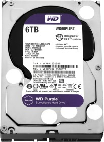 Western Digital WD Purple 6TB, SATA 6Gb/s (WD60PURZ)