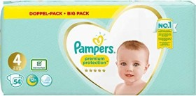 Pampers Premium Protection Gr.4 disposable nappy, 8-16kg, 54 pieces