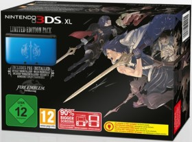 Nintendo 3DS XL Fire Emblem - Awakening Limited Edition Bundle blau