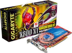 Gigabyte Radeon X800 XT, 256MB DDR3, 2x DVI, ViVo, PCIe (GV-RX80T256V)