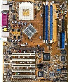 ASUS A7N8X, nForce2 (dual PC-3200 DDR)
