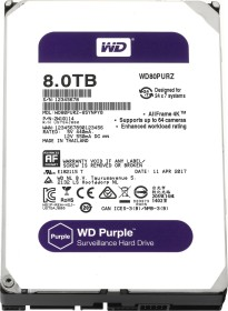 Western Digital WD Purple 8TB, SATA 6Gb/s (WD80PURZ)