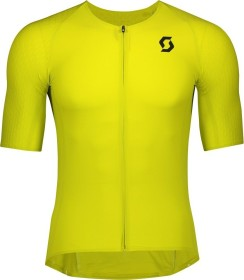 Scott RC Premium Kinetech Trikot kurzarm sulphur yellow/black (Herren) (275270-5083)