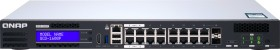 QNAP QGD-1600 Dual-System VM-Host & NAS desktop Gigabit Managed switch, 14x RJ-45, 2x RJ-45/SFP, PoE++ (QGD-1600P-8G)